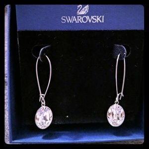 Swarovski dangle Crystal earrings